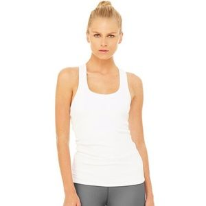 Alo rib support racerback tank top NWOT